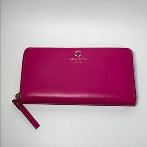 NWT Kate Spade Neda Charlotte Terrace Wallet Pink